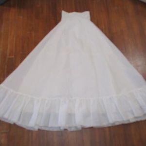 Vintage princess crinoline Petticoat Slip Wedding